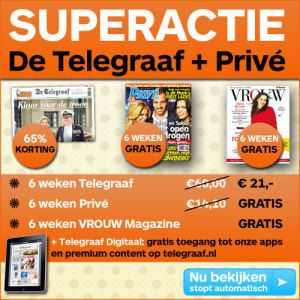 #Gratis de #Privé bij de #Telegraaf ontvangen? ontvang 6 weken de Privé gratis bij de Telegraaf en 65% korting op de Telegraaf. Profiteer nu en klik HIER =>