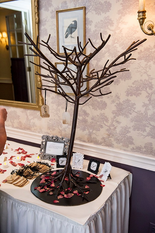 Metal Wedding Wishing Tree by nicolasacicero on Etsy, $400.00