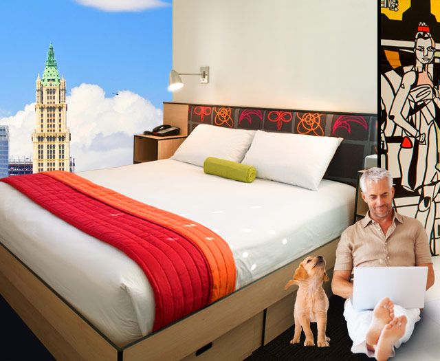 Stylish & Hip Budget Hotel Rooms in New York City | Pod Hotels