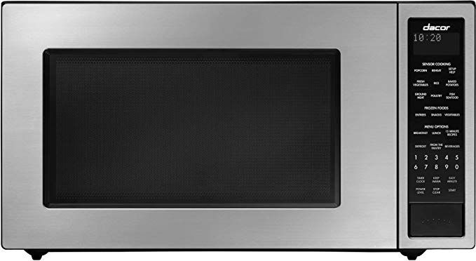 Amazon Com Dacor Dmw2420s 24 Distinctive Series Counter Top Or Built In Microwave In Stainless Steel Built In Microwave Stainless Steel Microwave Microwave