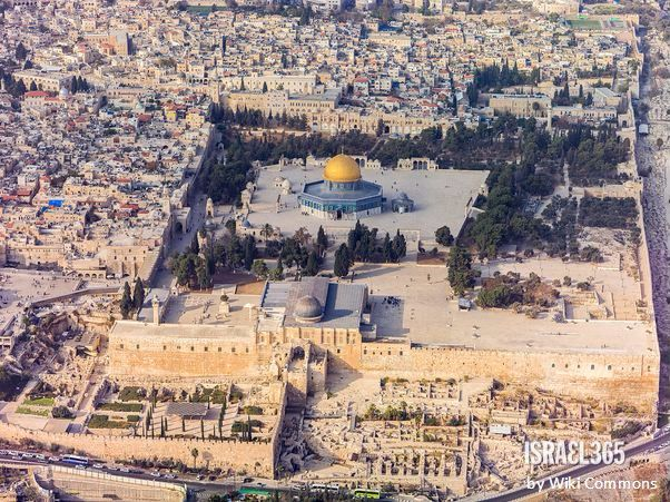 "Amazing Aerial View of Jerusalem ✡ ""Mount of His Holiness"""