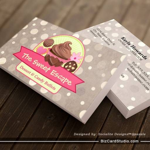 49 best bussiness cards images on pinterest bakery business cards sweet desserts business cards colourmoves
