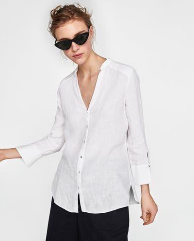 c848ce1c27 Camicie e Bluse da Donna   Nuova Collezione Online   ZARA Italia ...