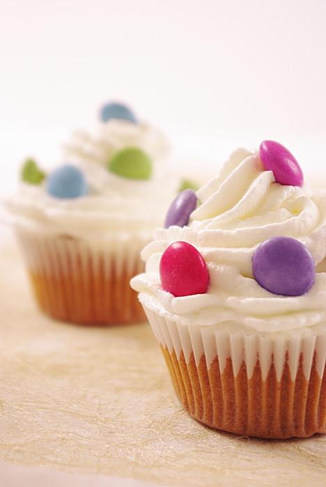 Cupcakes aux smarties