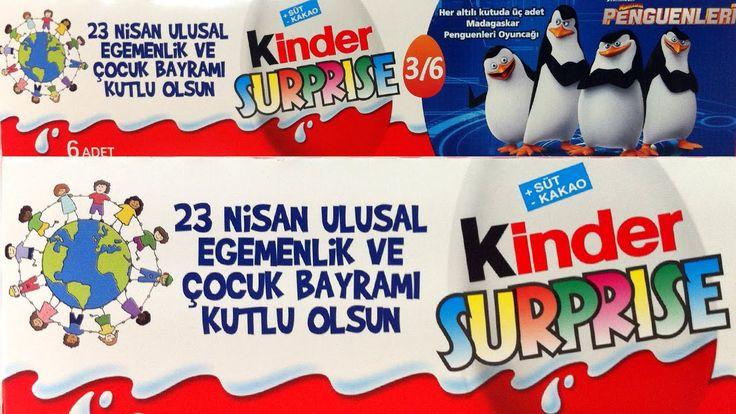 Kinder 23 Nisan Özel 6'lı Sürpriz Yumurta Paketi Açma