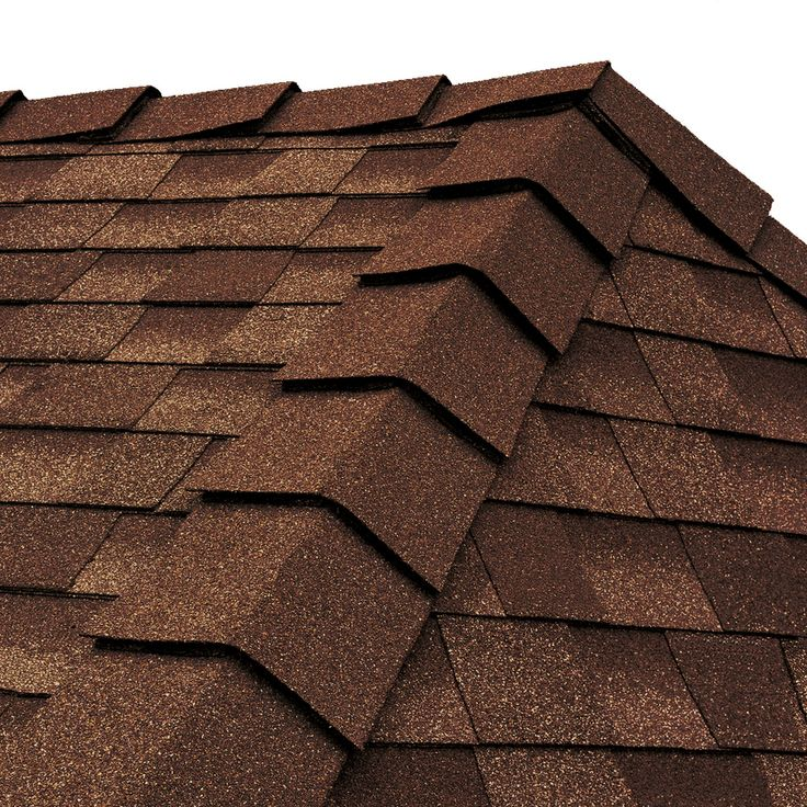 Best Gaf Ridglass 31 Lin Ft Mesa Brown Hip And Ridge Roof 400 x 300