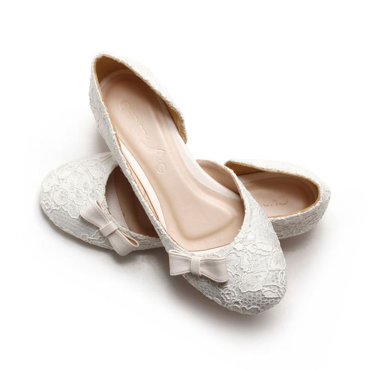 The 25+ best Lace wedding flats ideas on Pinterest | Lace flats ...