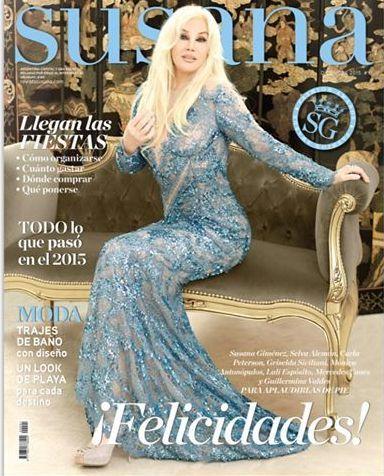 Revista de Susana Giménez (Argentina) Diciembre 2015