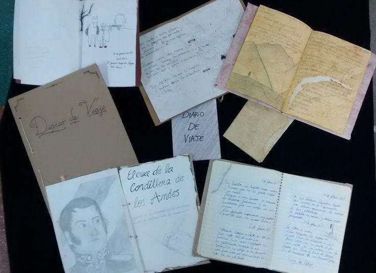 Diarios de viaje elaborados por los alumnos de 4° año B
