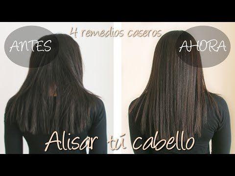 4 remedios caseros para ayudar a alisar el cabello - YouTube