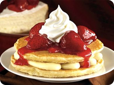 IHOP's New York Cheesecake Pancakes With Copycat Recipe From Food Network Magazine