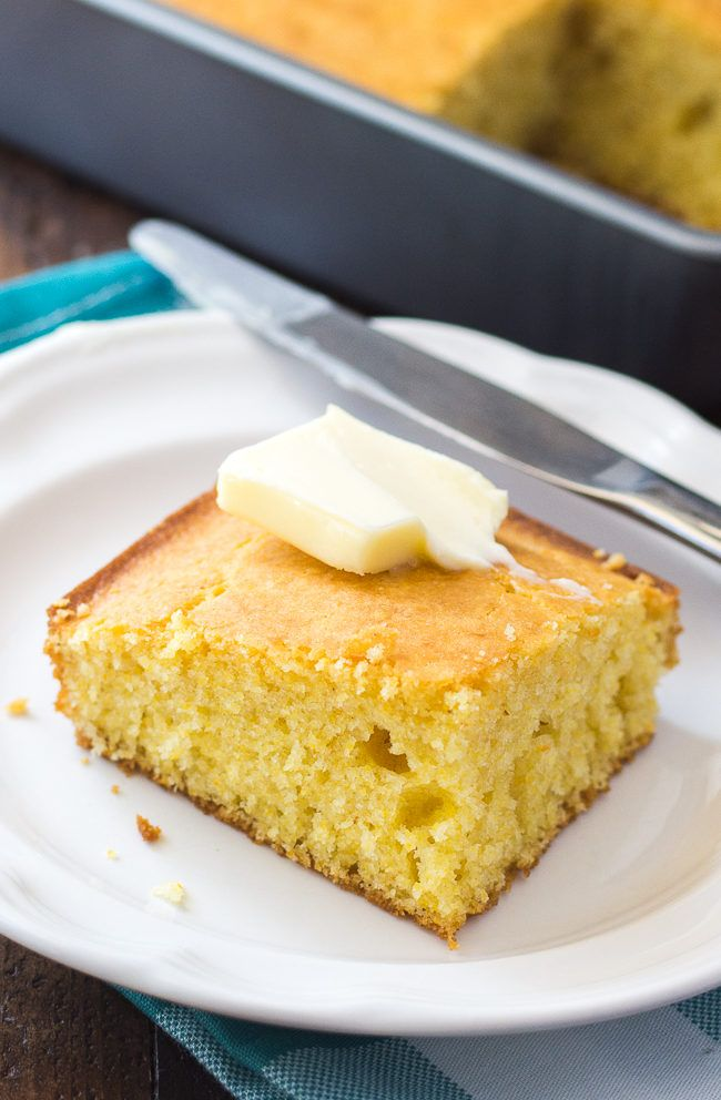 Easy Buttermilk Cornbread Recipe This Simple Homemade Cornbread Is A Winner Every Time Sweet Cornbread Cornbread Recipe Sweet Easy Buttermilk Cornbread