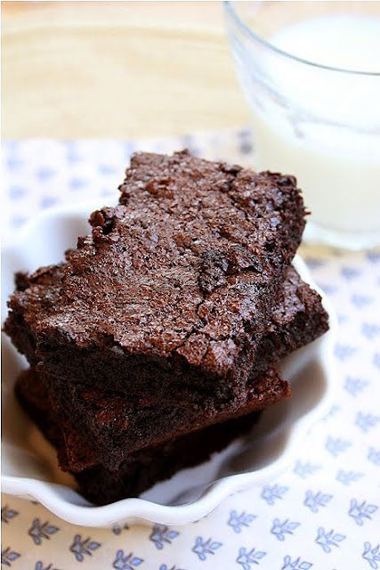 Best Cocoa Brownies Recipe — Dishmaps
