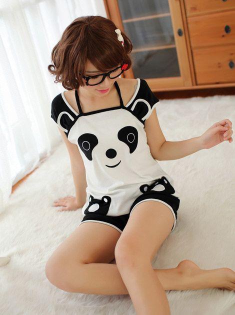 Cute panda outfit =D