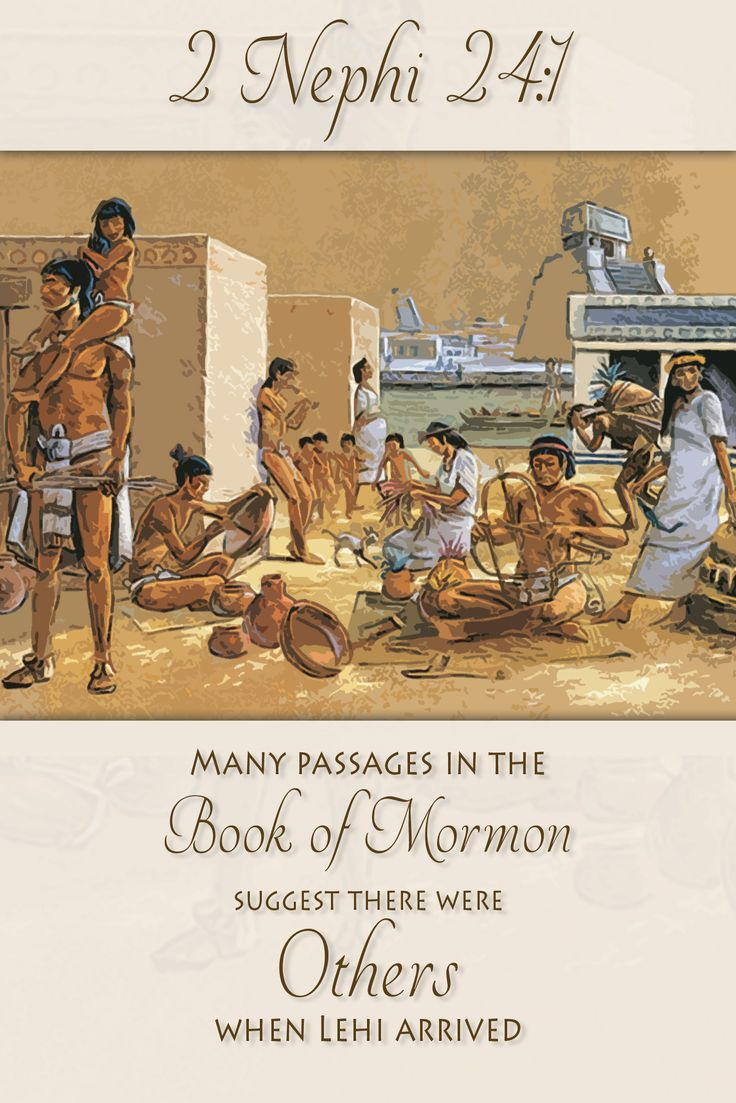 Did you know that the Book of Mormon text suggests there were others in the New World before Lehi arrived? Learn how this relates to Nephi's use of certain Isaiah passages. http://www.knowhy.bookofmormoncentral.org/content/did-interactions-with-others-influence-nephis-selection-of-isaiah  #BookofMormon #Natives #Isaiah #LDS #Mormon #Indian #Maya