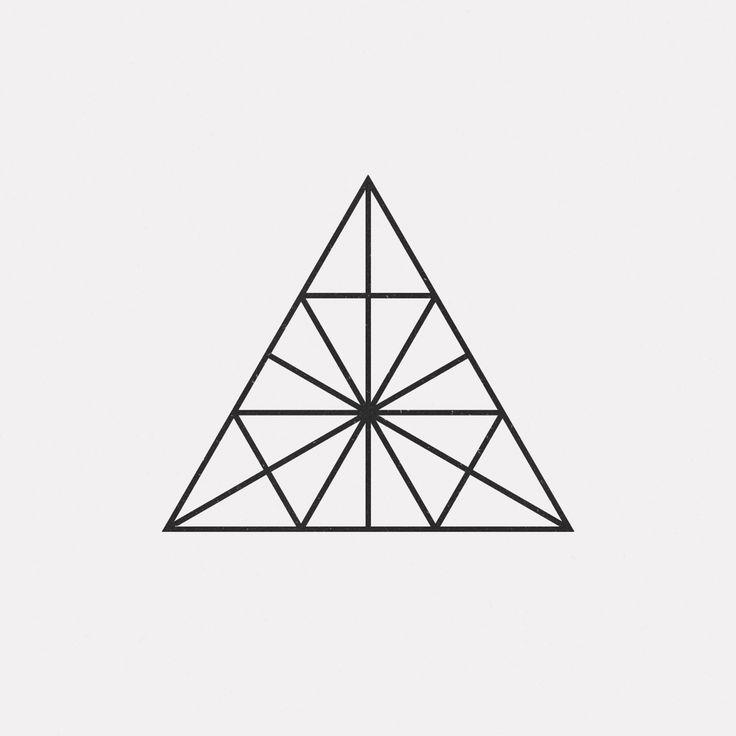 dailyminimal:  #FE16-495   A new geometric design every day