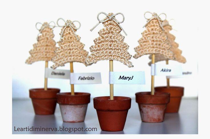 Le Arti di Minerva: Albero di Natale all'uncinetto | Crochet Christmas tree