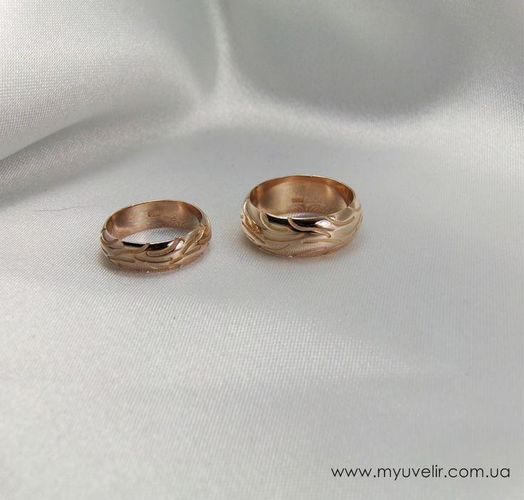 Свадебные кольца в виде шин