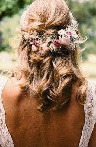 32 Half Up Half Down Updos for any Special Occasion