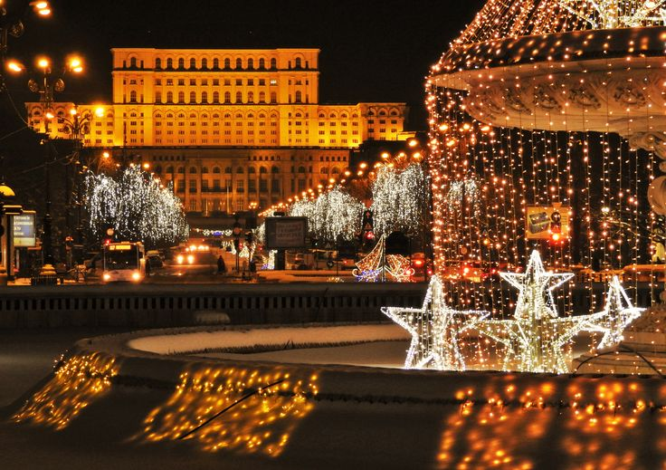 Bucharest by Night  www.touringromania.com #bucharest #romania #travelideas #transylvania #visitbucharest #wheretotravel #privatetour #tripadvisor
