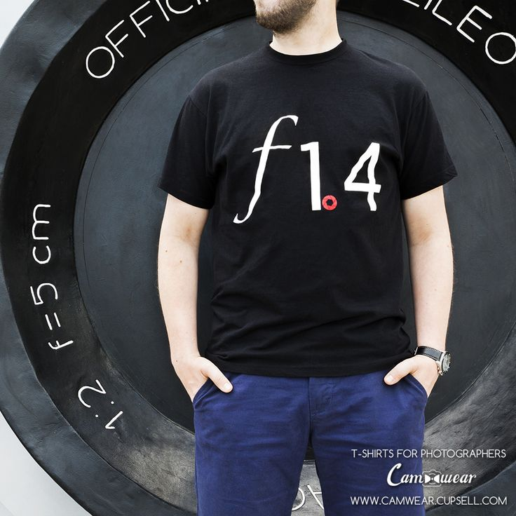 Photography t-shirt aperture from Camwear. Gift for photographer. http://camwear.cupsell.com/product/852664-product-852664.html
