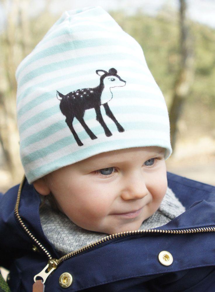 Mössa Randig Bambi