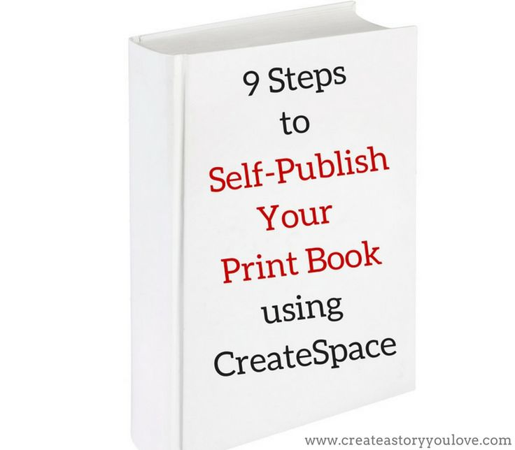 9 Steps to Self-Publish Your Print Book Using CreateSpace by Lorna Faith