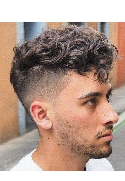 Cool Messy Curly Hairstyles Mens Hairstyles In 2018 Pinterest