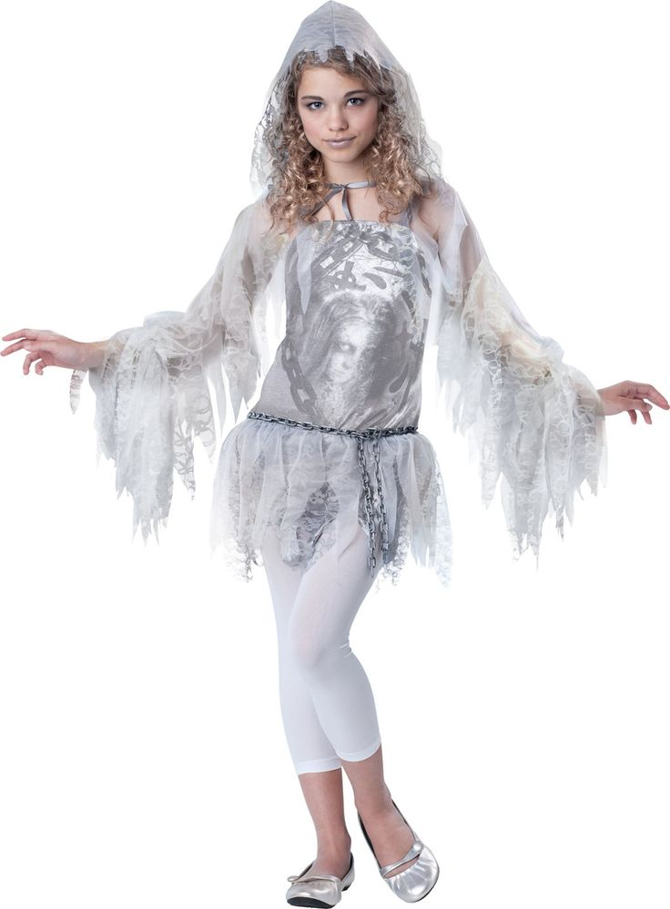 Sassy Spirit Tween Costume ( I love the spectral girl on the dress)