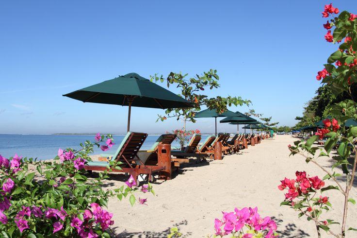 Private Beach Sanur Beach Hotel Bali