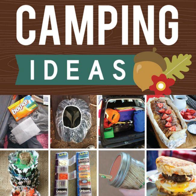 101 Genius Camping Hacks and Ideas