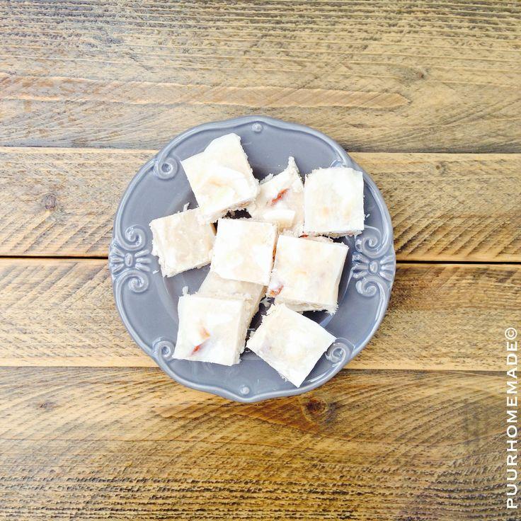 Kokos fudge 1 - Puur Homemade