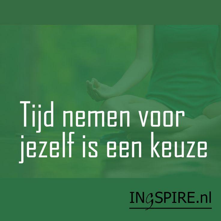 Tijd nemen voor jezelf is een keuze Mooie spreuk voor een mindful leven Ontdek nog meer positieve spreuken en motiverende citaten die zorgen voor een energieke boost! Ook een mooie spreuk is: Gun jezelf rust, een ander… Deel en inspireer anderen!