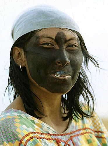 Wayuu woman, Guajira, Colombia
