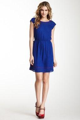 by SMITH Hepburn Cap Sleeve Dress