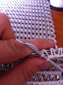 Pop Tab crochet method