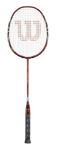 Wilson Fusion BLX Badminton Racquet (Maroon, 675 mm) by Wilson. $170.87. Wilson racquets are engineered with BASALT fibers, a proprietary frame, grommet and grip technologies for THE PERFECT FEEL. Basalt fibers are woven longitudinally with Karophite Black filtering unwanted extreme frequency and delivering a clean feedback with better sensation and the perfect feel.Length: 675 mmFlex: High. Save 22% Off!