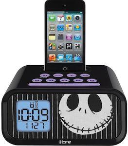 The Nightmare Before Christmas Jack Skellington Alarm Clock