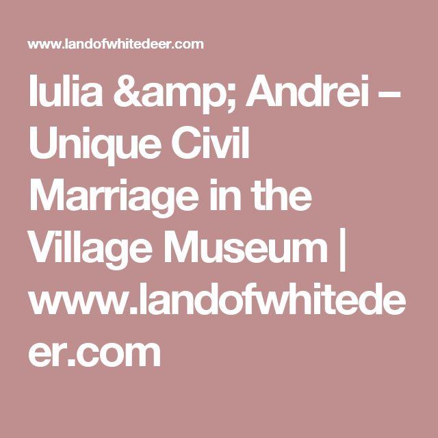 Iulia & Andrei – Unique Civil Marriage in the Village Museum | www.landofwhitedeer.com