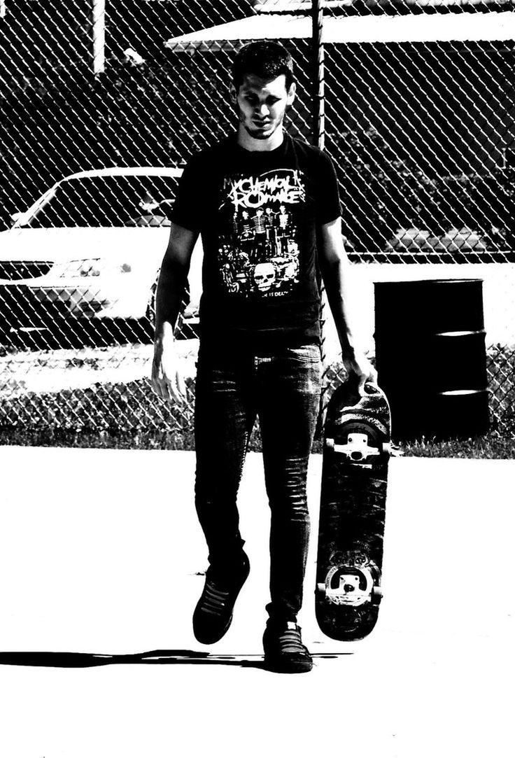 Man, skateboarding, sports, sunset, silhouette, 1080x1920