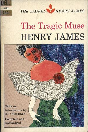 The Tragic Muse, Henry James, Dell Publishing, 1961, http://www.antykwariat.nepo.pl/the-tragic-muse-henry-james-p-13980.html
