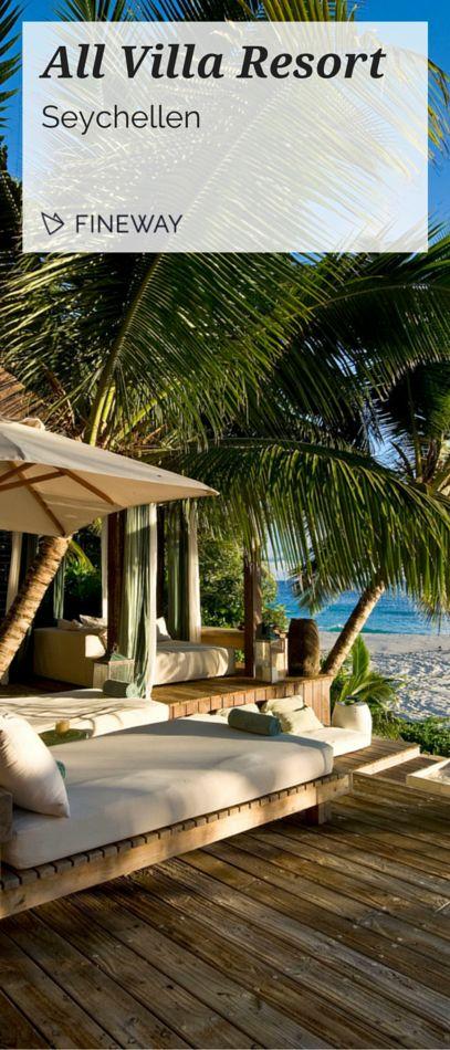 Stellen Sie sich einen Ort vor, der so besonders und so einzigartig ist, dass Worte nicht ausreichen würden, um seine natürliche Perfektion zu beschreiben. Das ultimative Paradies auf einer der schönsten Inseln unserer Erde - ein wahrgewordener Traum von großer Freiheit und absoluter Unberührtheit. #reisen #travel #seychellen #luxus #außergewöhnlich #villa #fineway
