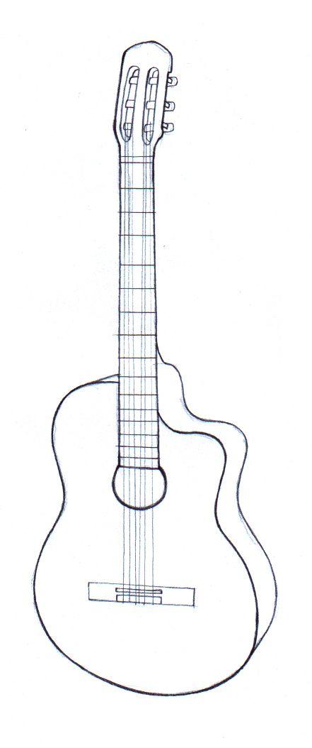 Gitarren zeichnen Miniatures