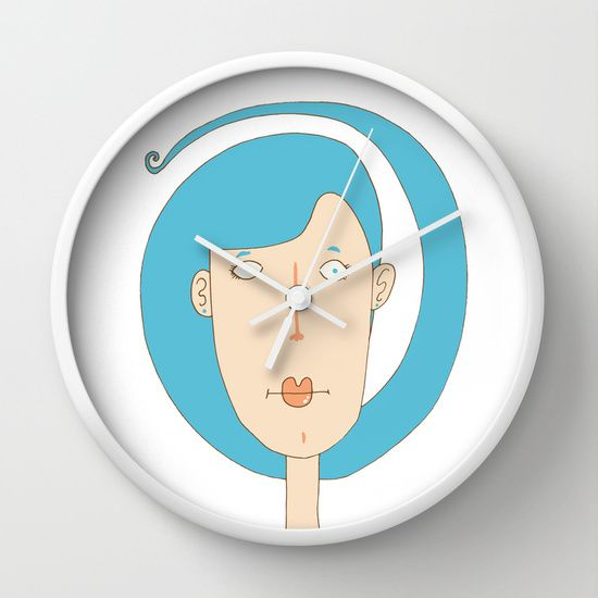 The Christmas fairy Wall Clock