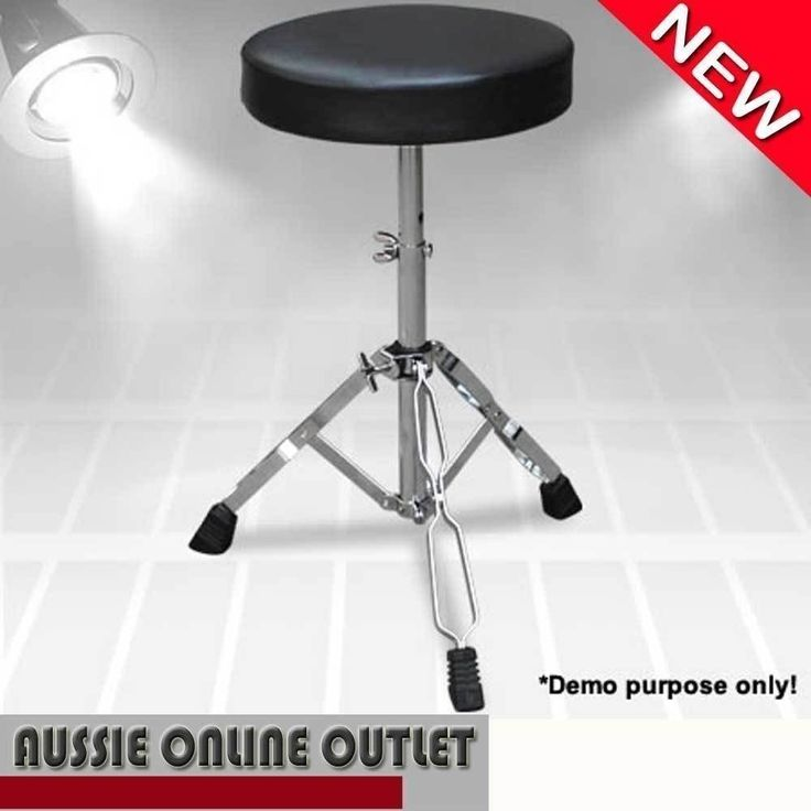 NEW Adjustable Pro Heavy Duty Drum Piano Bench Stool Seat Chair Bass