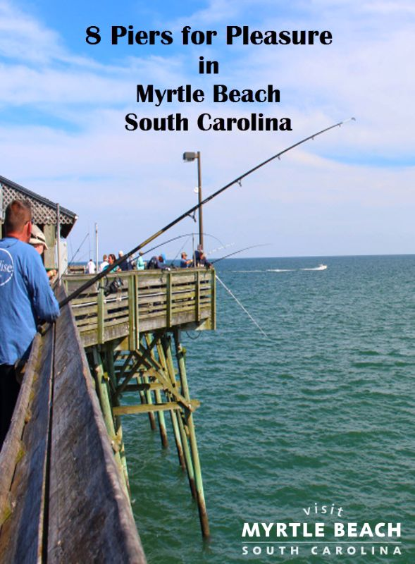 70 best fishing boating images on pinterest boats for Fishing piers in myrtle beach