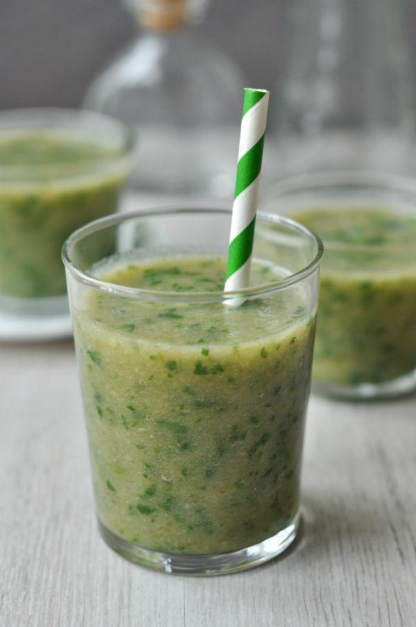 Tejmentes zöld gyümölcsturmix - laktózérzékenyek és tejallergiások részére