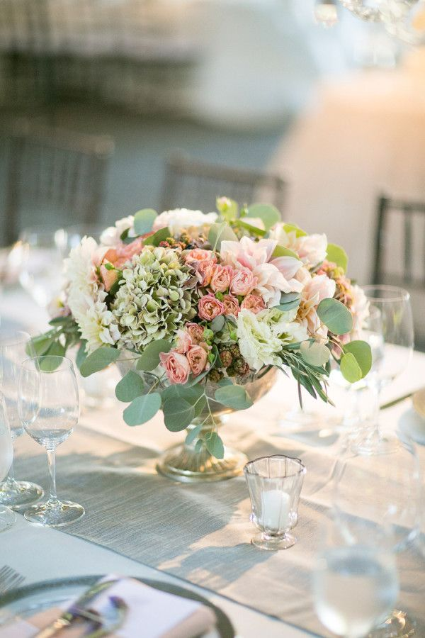 Summer wedding flowers centerpieces and