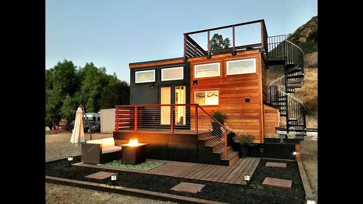 Best Fabulous Tiny House With Rooftop Deck The Tiny House Of 640 x 480