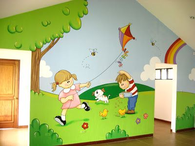 1000 ideas about murales de pared para ni os en pinterest - Paredes para ninos ...
